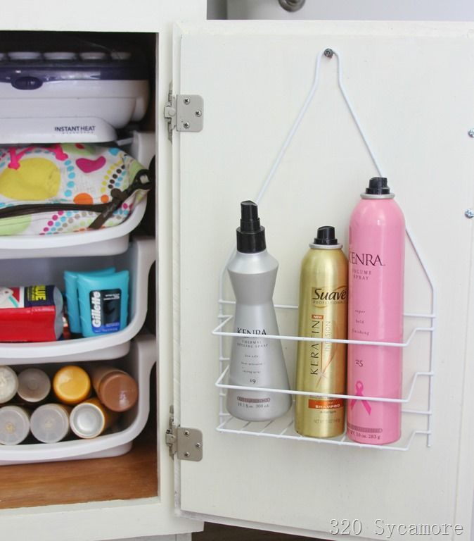 20 creative bathroom organizers ideas for bathroom cabinet and drawer organization - Bathroom Organizers Under Sink