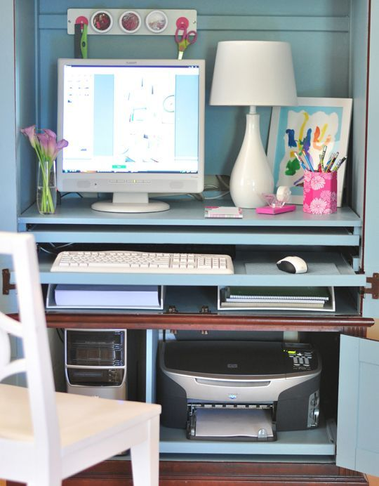 How To Hide A Printer Printer Storage Solutions