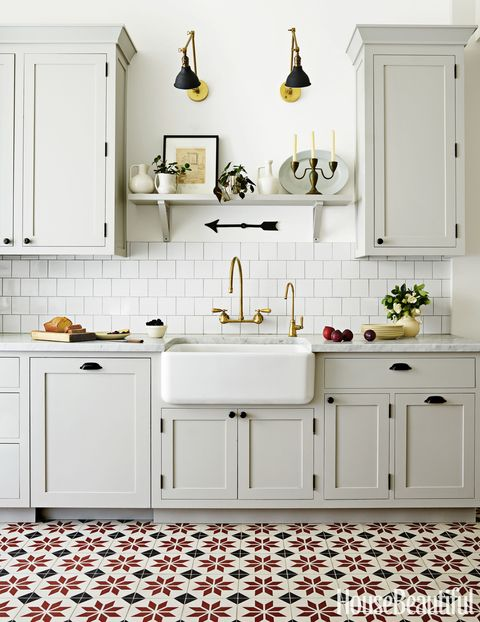 Old World Kitchen by Grant K. Gibson - Farmhouse Sink Ideas