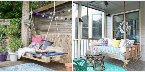 10 DIY Outdoor Swings That'll Make Warm Nights Even Better