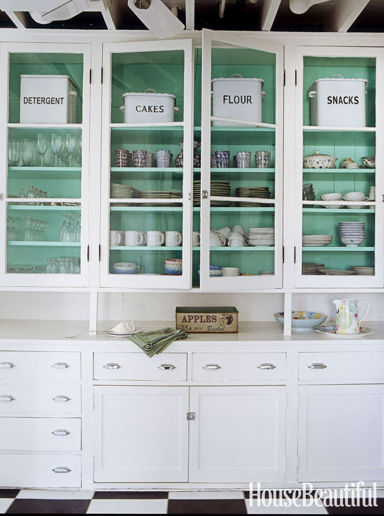 awesome turquoise kitchen cabinets dining | 50 Kitchen Cabinet Design Ideas - Unique Kitchen Cabinets