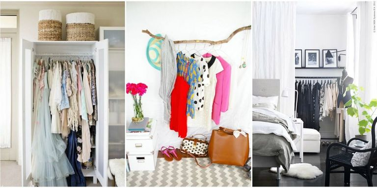 Interior Bedroom Closet Storage Ideas storage ideas for a bedroom without closet genius clothing try one of these and your room will feel like it has two closets promise