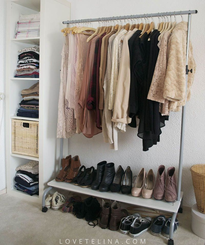Charmant 14 Small Bedroom Storage Ideas   How To Organize A Bedroom With No Closet  Space