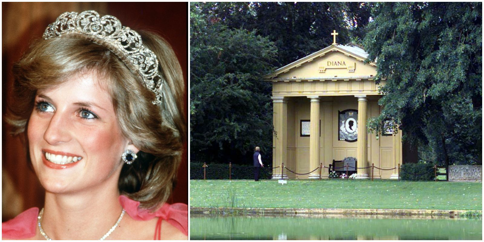 Princess Diana Grave Althorp Estate Renovation
