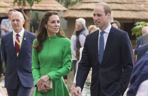 Kate and Will Chelsea Flower Show