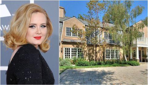 Adele Buys Mansion