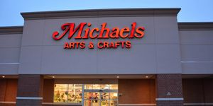 Michael's Art Supplies crafts sign