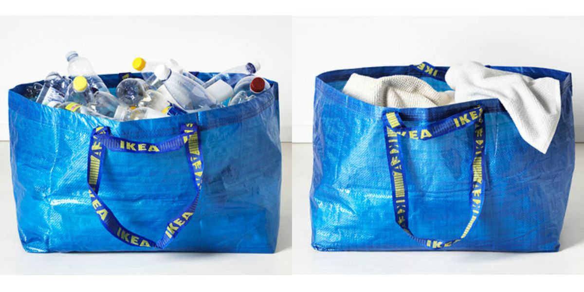 Ikea Frakta Shopping Bag Redesign Hay Collaboration