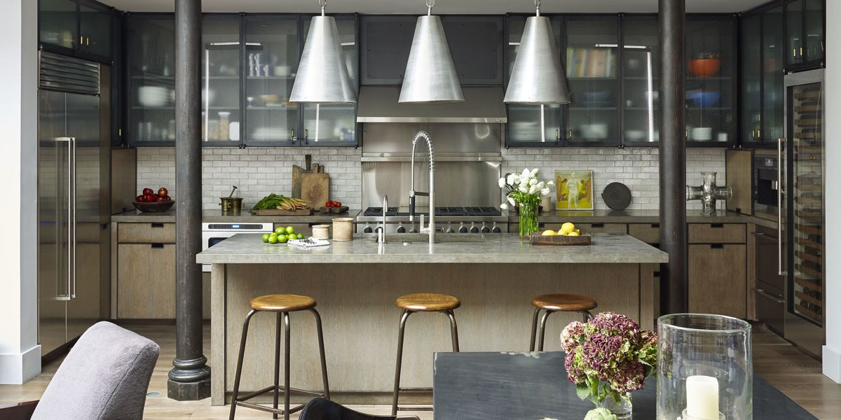 industrial kitchen design ideas robert stilin interior design - Industrial Kitchen