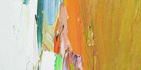 Yellow, Colorfulness, Art paint, Paint, Orange, Art, Watercolor paint, Artwork, Painting, Visual arts,