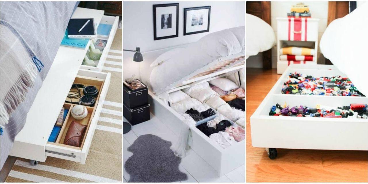9 Ways to Make the Storage Under Your Bed Work Harder