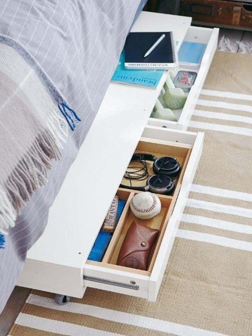 Under Bed Organization Ideas How To Organized Under Your Bed