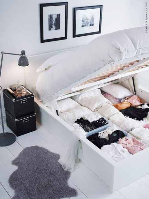 Amazing Under Bed Organization Ideas How To Organized Under Your Bed Machost Co Dining Chair Design Ideas Machostcouk