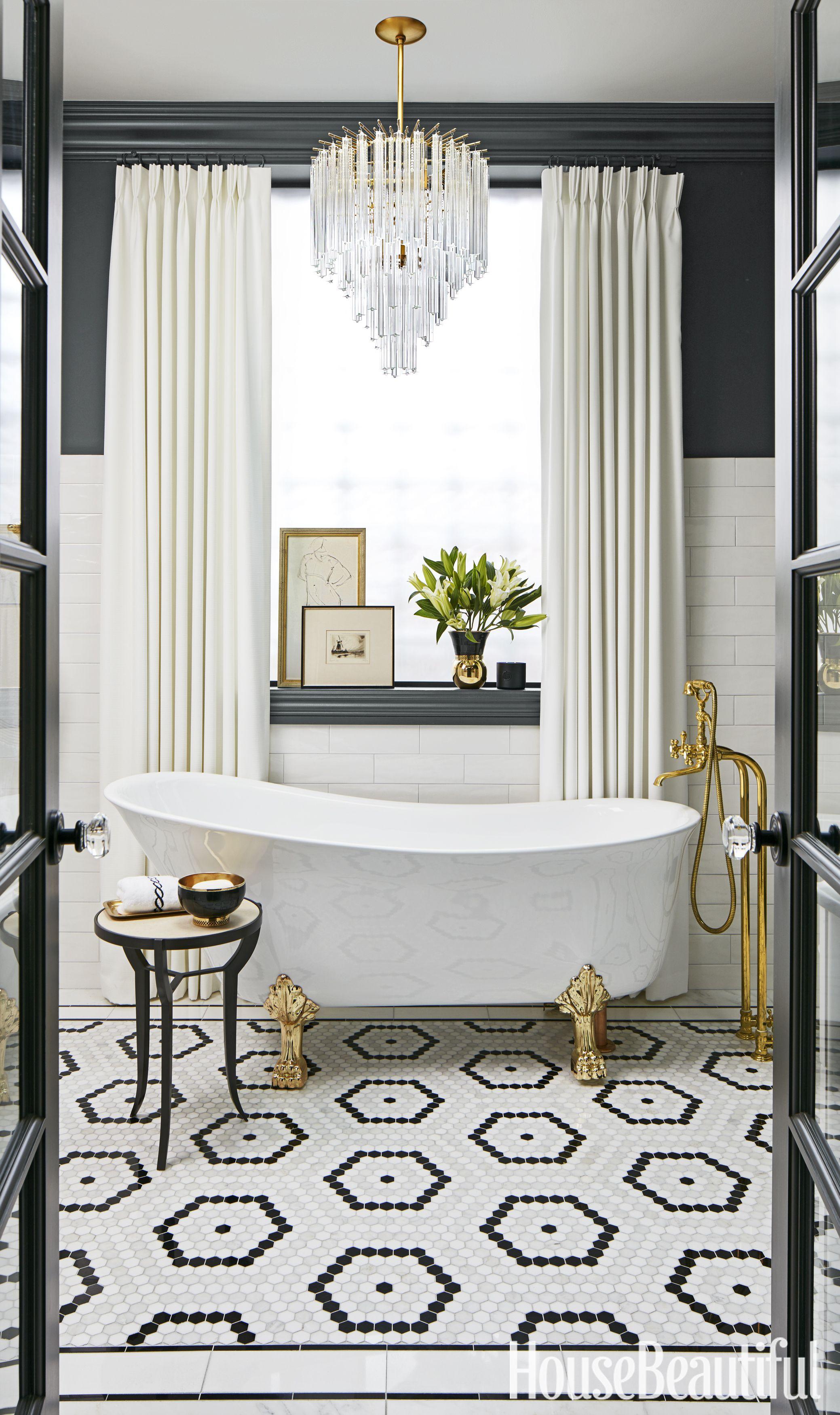 Nathan Kirkman. Glam Bathroom