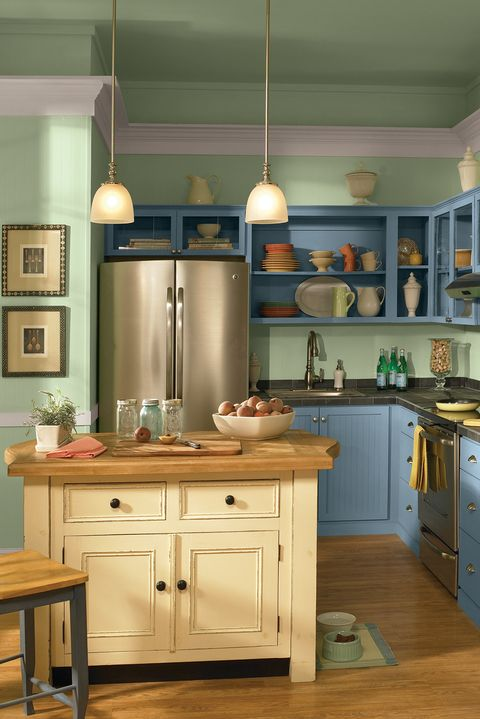 10 Kitchen Cabinet Color Combinations You Ll Actually Want To Commit To