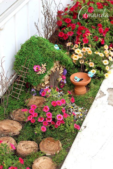 fairy garden planter box