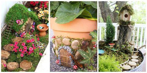 9 Tiny Gardens Made Magical With Fairy Doors