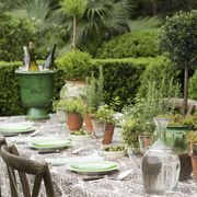 Summer Dinner Tablescape