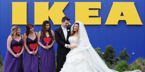 ikea wedding