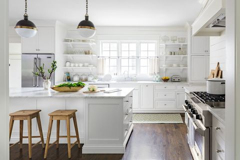 worst color to paint kitchen white