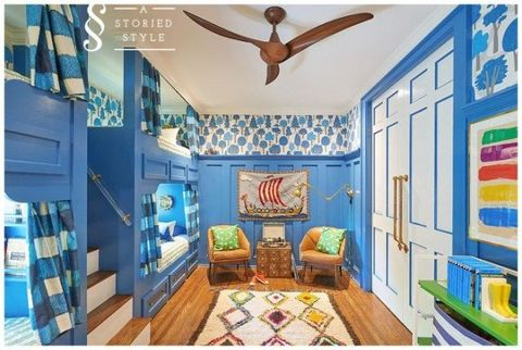 A Storied Style kids room