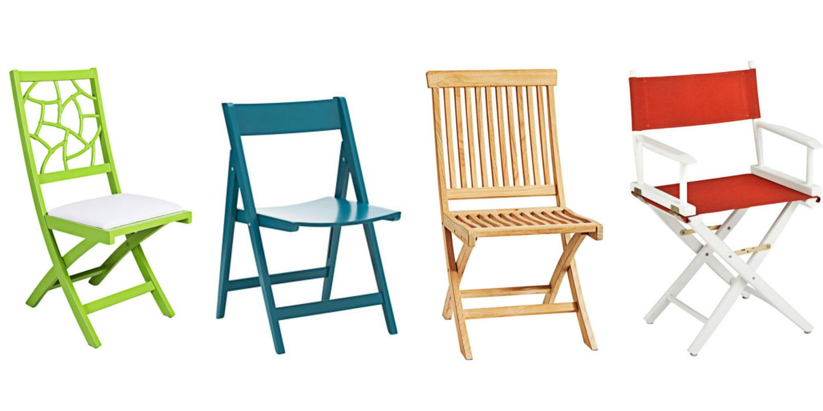 These Folding Chairs Make Such A Stylish Statement, You Might Not Want To  Put Them Away.