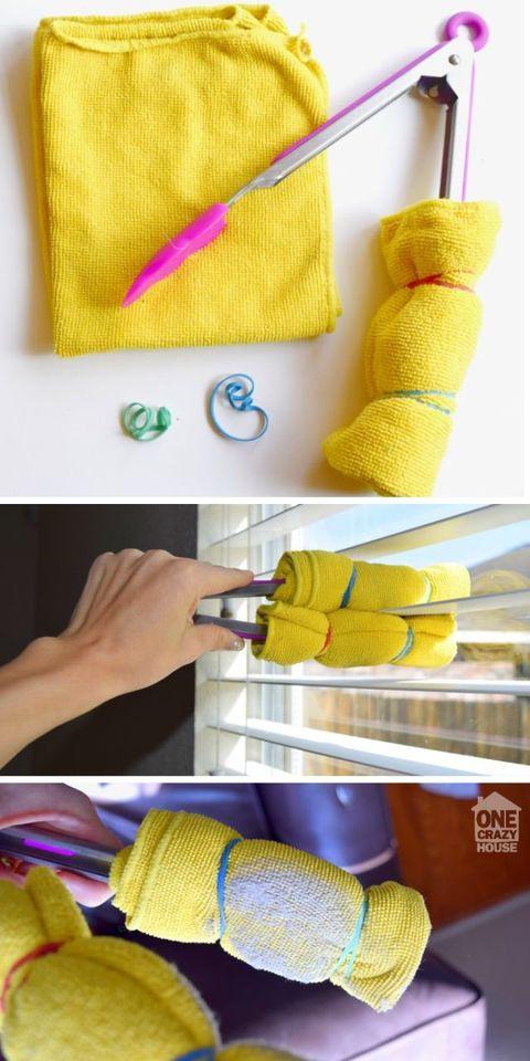 dusting tricks blinds
