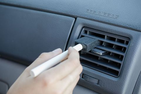 dusting tricks car vent