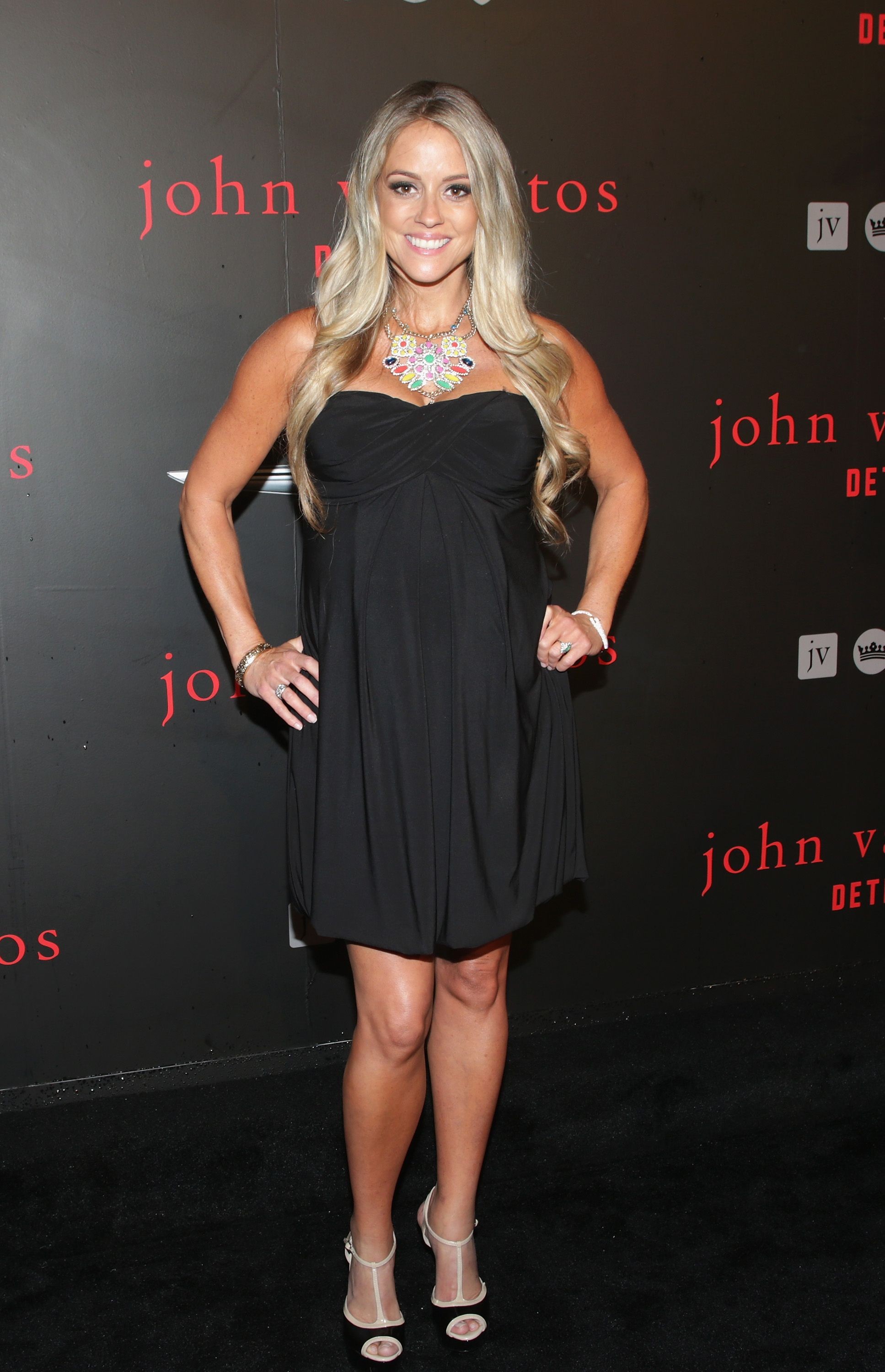Nicole Curtis at John Varvatos Detroit Store Opening Party