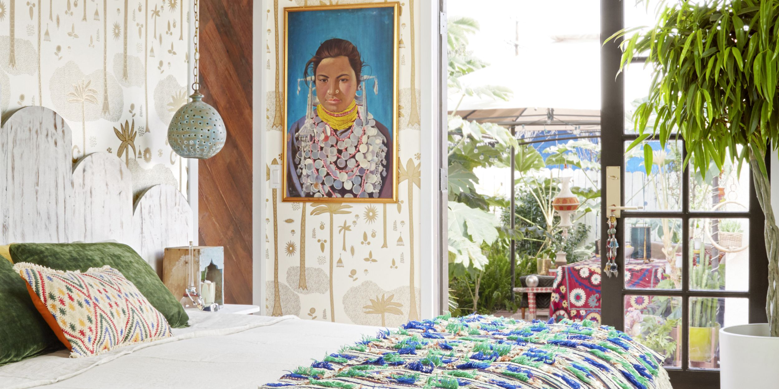 Justina Blakeney Masters Color and Pattern in Her Los Angeles Cottage