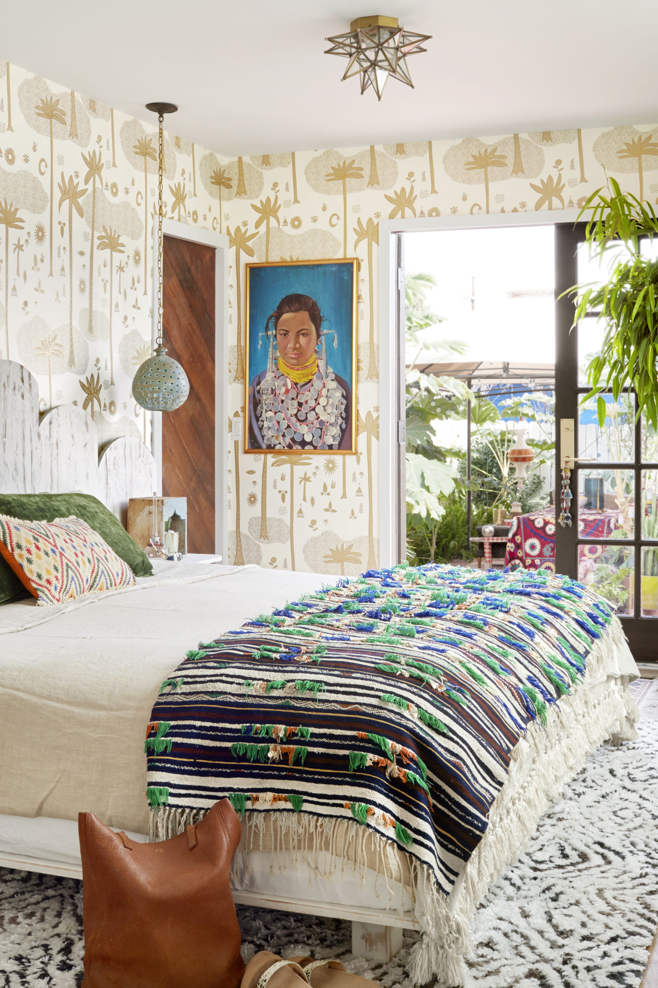 justina blakeney jungalow boho bedroom