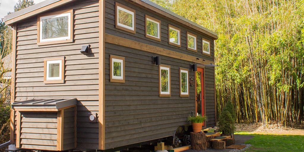 two bedroom tiny house shelter wise hikari box. Black Bedroom Furniture Sets. Home Design Ideas