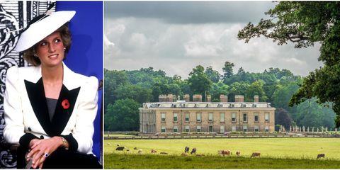 Princess Diana and Althorp Estate