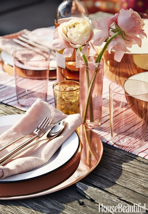 Rooftop Kitchen Tablescape