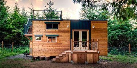 oregon tiny house storage space