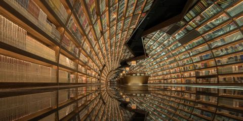 This Chinese Bookshop With Amazing Design Is a Fairytale for Bookworms