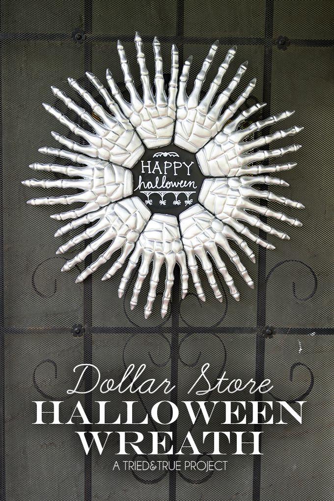 23 Diy Halloween Wreaths Best Halloween Door Decoration Ideas