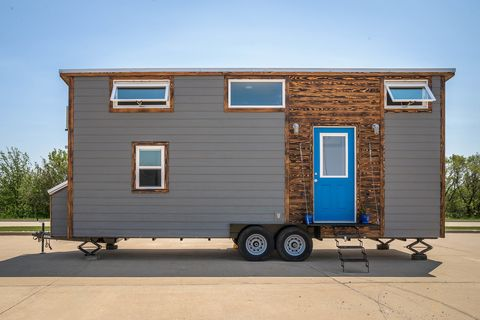 68 Best Tiny Houses - Design Ideas for Small Homes Little Homes With Rv Garages on home plans with side garages, house plans with motorhome garages, rv buildings garages, big houses with garages, house plans with large garages, a frame house plans with attached garages,