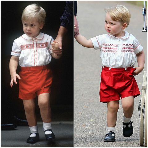 prince william prince george twins