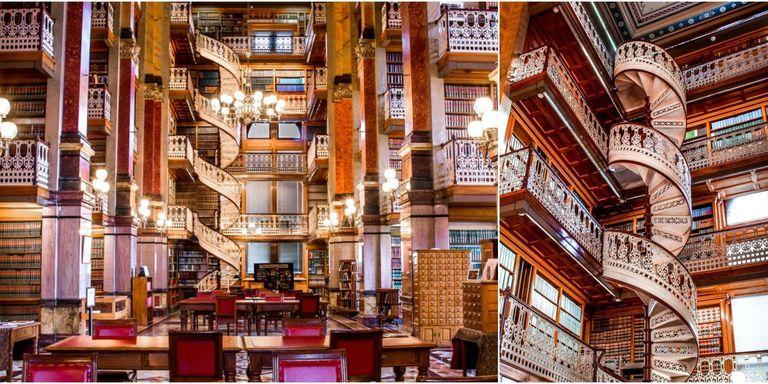 Iowa state capital staircases iowa law library interior - Iowa state university interior design ...