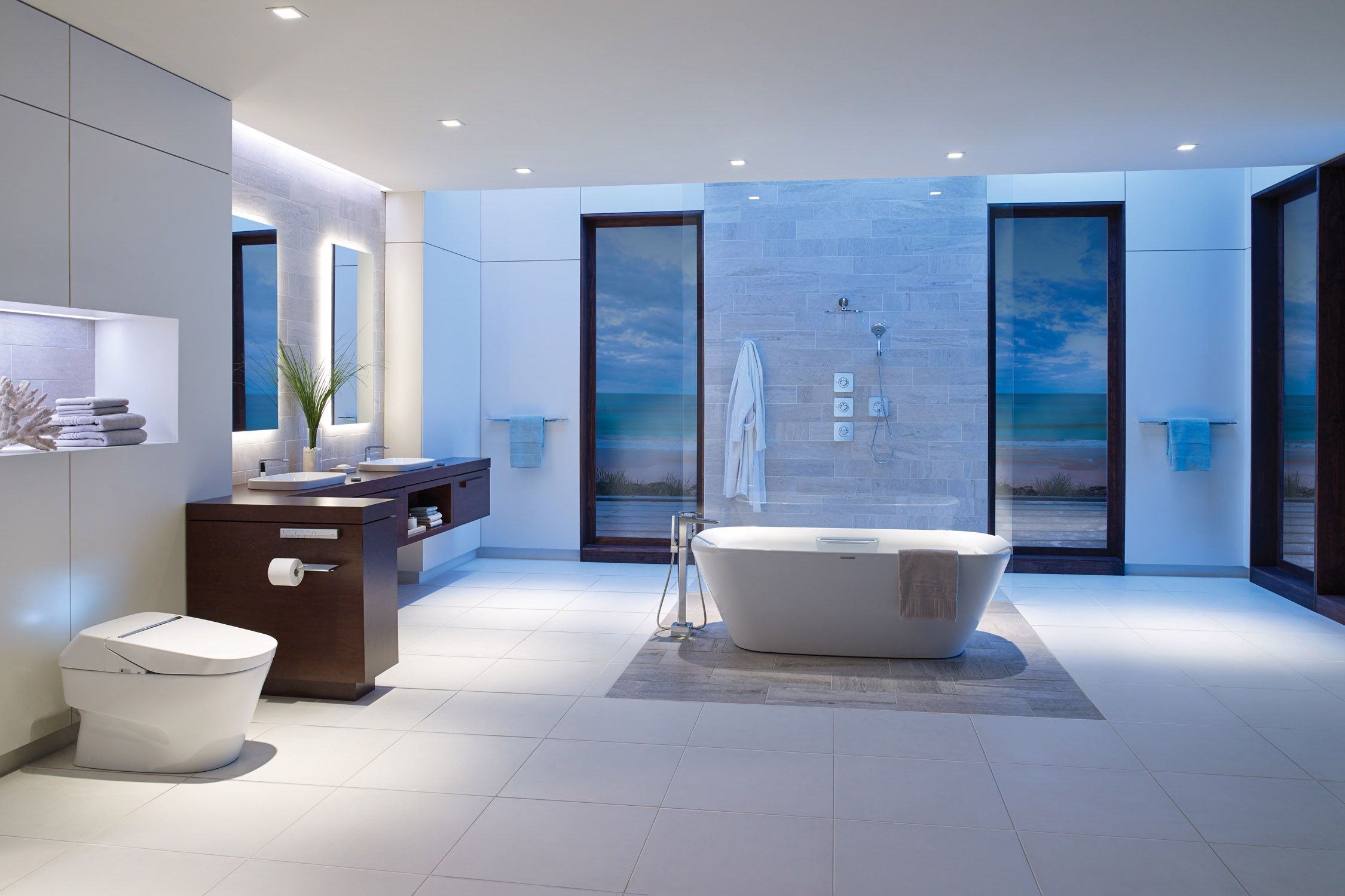 15 Dream Bathroom Inspiration - Photos of Beautiful Bathrooms