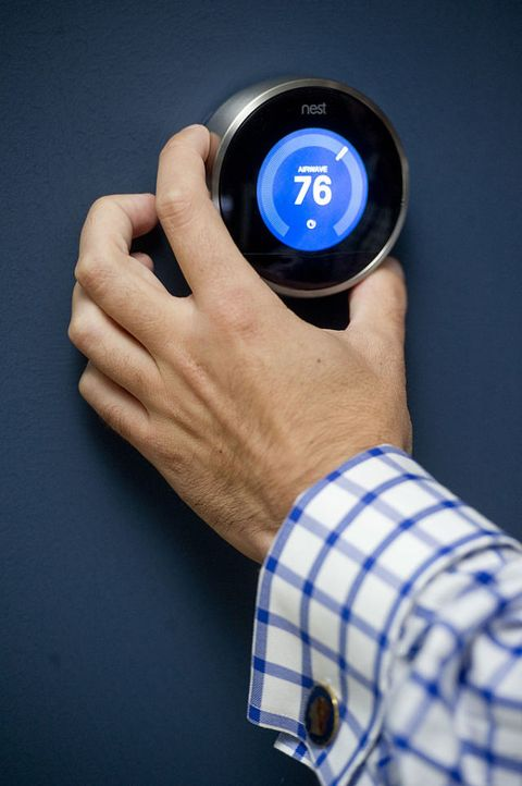 home energy efficiency program thermostat