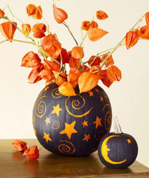 40+ Pumpkin Decorating Ideas for 2018 , Painted Pumpkin