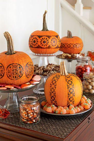 40+ Pumpkin Decorating Ideas for 2018 - Painted Pumpkin ...