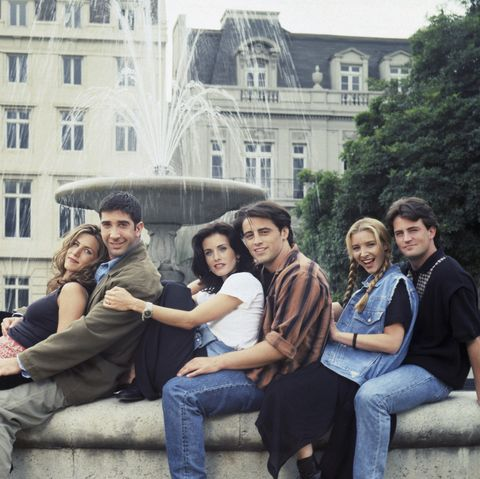 most popular tv shows: friends