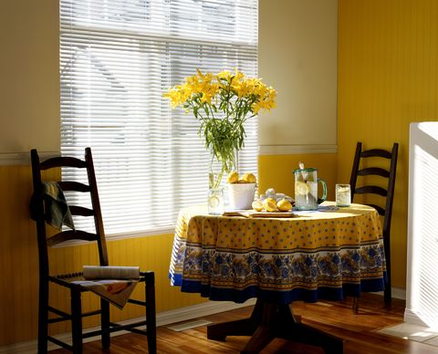 2017 color trends: sunshine yellow