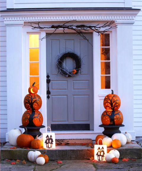 How To Decorate Outside House For Halloween Magnificent Decorating Ideas