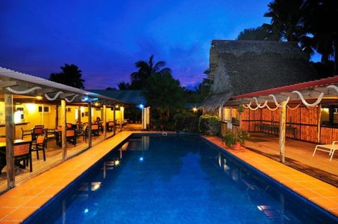 Lighting, Swimming pool, Property, Resort, Night, Real estate, Town, Majorelle blue, House, Outdoor furniture,