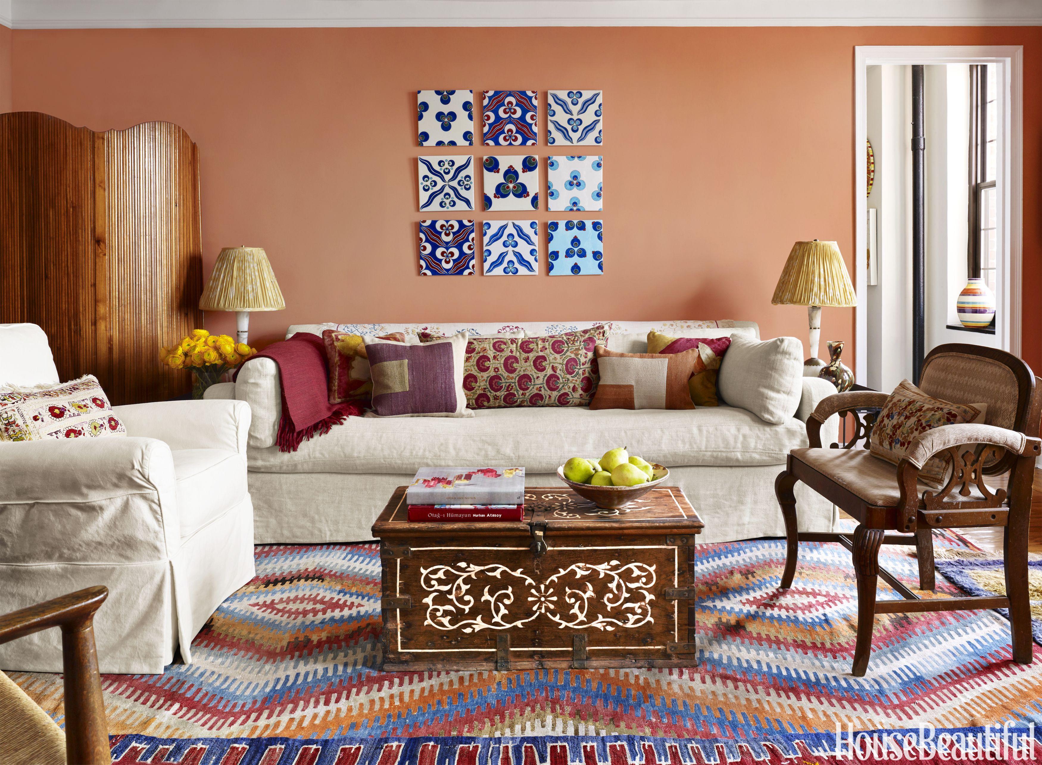 sara bengur living room & 20 Bohemian Decor Ideas - Boho Room Style Decorating and Inspiration
