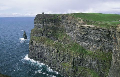 harry potter, cave by the sea, cliffs of moher in ireland